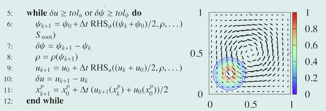 Lagrangian methods for aerosol transport